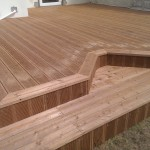 Softwood decking products and designs