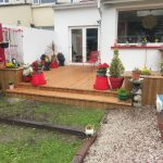 Hardwood decking products and designs