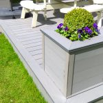 Composite decking products and designs